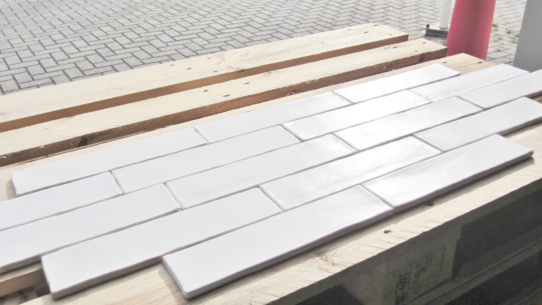 Terrastegels 30 X 40.Handvorm Mat Wit 7 5 X 30 Webshop Vloertegeloutlet Nl