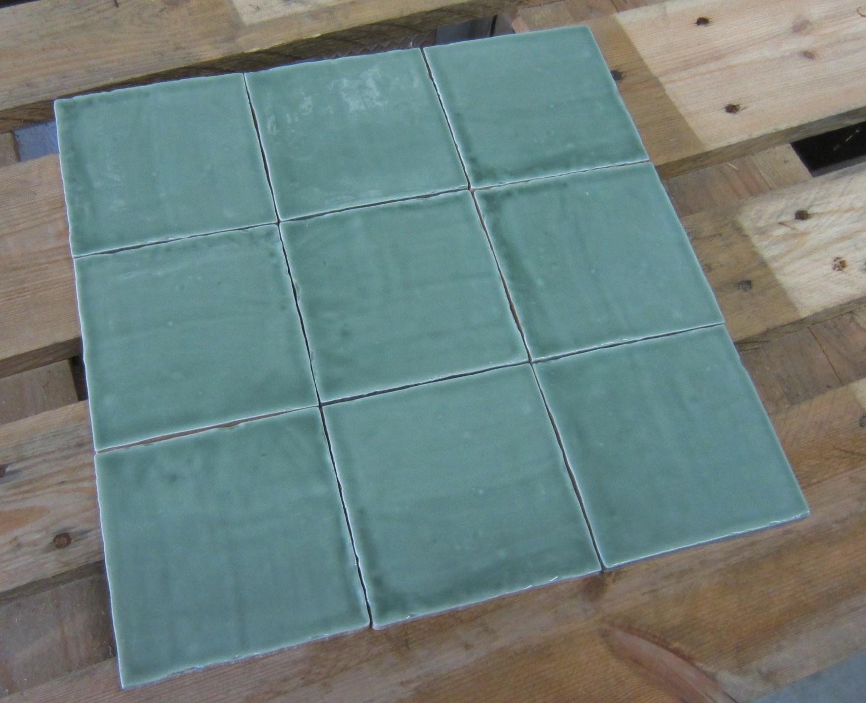 Groen Tegels Outlet : Witjes appel groen glans webshop vloertegeloutlet